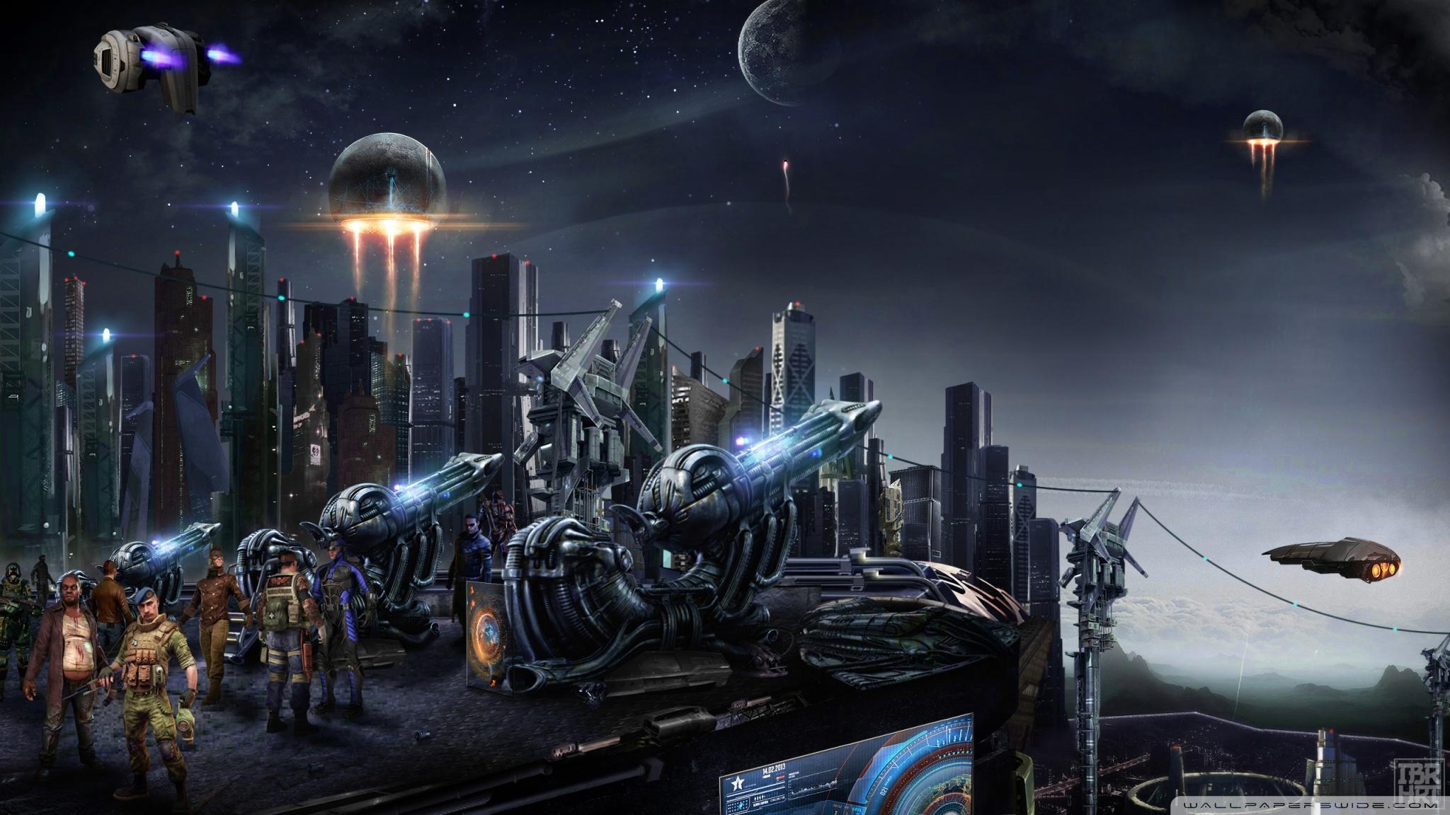 Alien Planet Windows 7 3d Wallpaper Futuristic City 4k Hd Desktop Wallpaper For Wide Amp Ultra