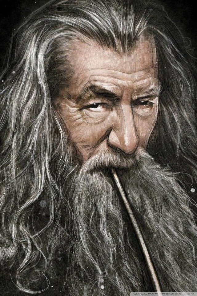 Wallpaper Hd Lord Of The Rings Gandalf Smoking Pipe 4k Hd Desktop Wallpaper For 4k Ultra