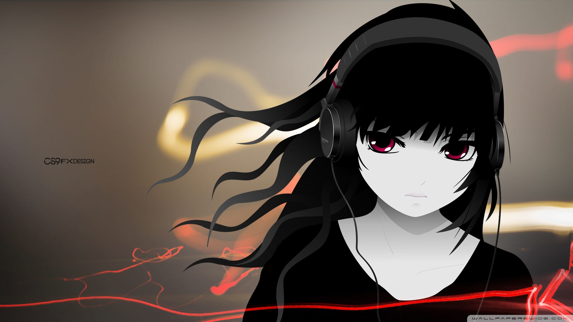 Free Download Emo Girl Wallpapers For Mobile Girl With Headphone Full Hd By Cs9 Fx Design 4k Hd