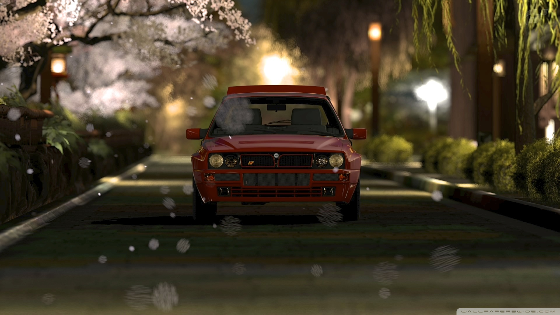 Rally Car Hd Wallpaper Gran Turismo 5 Lancia Delta Hf Integrale 4k Hd Desktop
