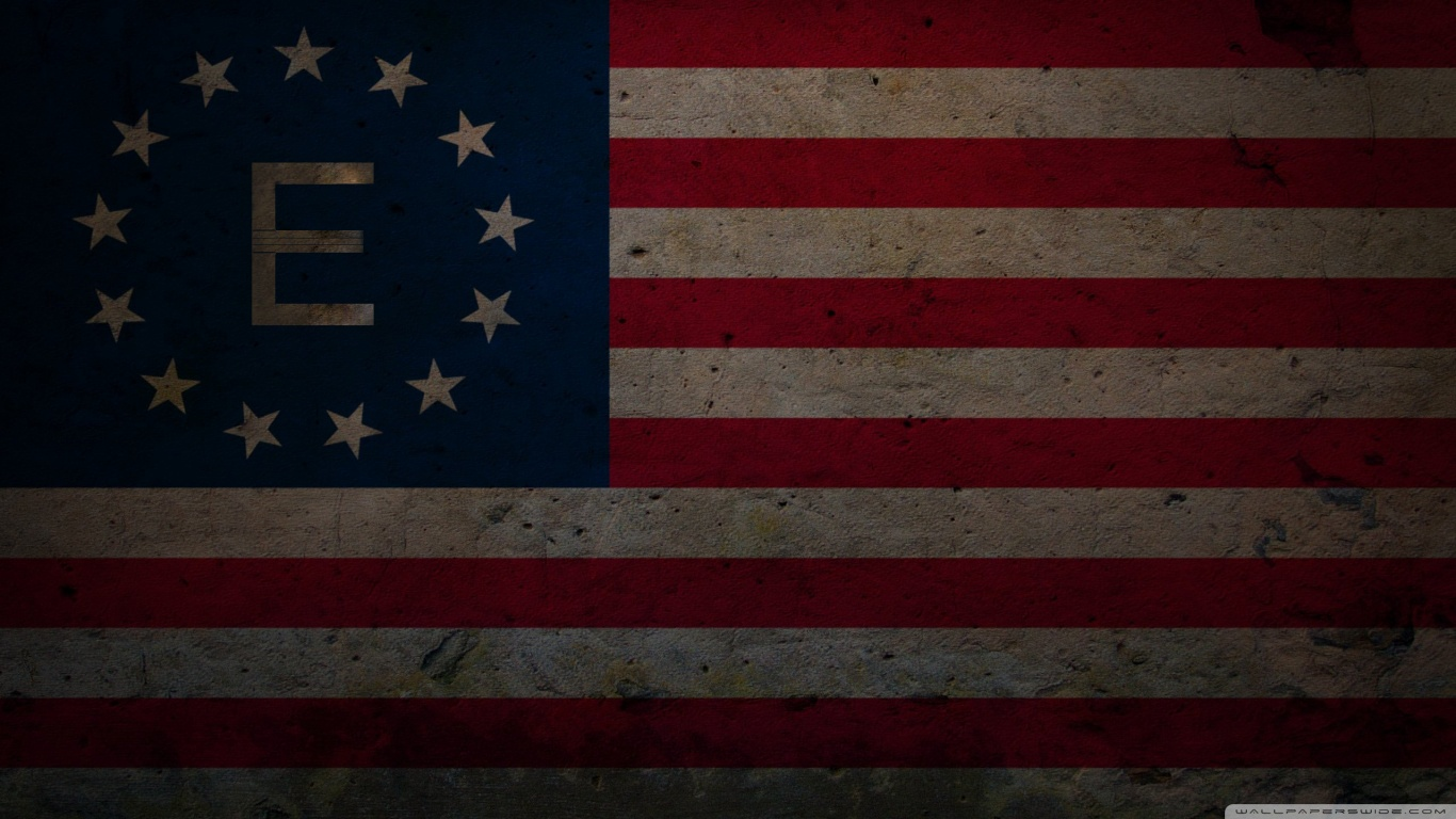 1440p Fall Wallpaper Grunge Fallout Version Enclave Flag 4k Hd Desktop
