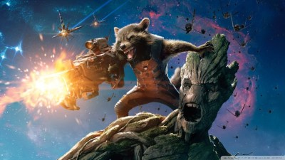 Guardians Of The Galaxy Groot And Rocket Raccoon 4K HD ...