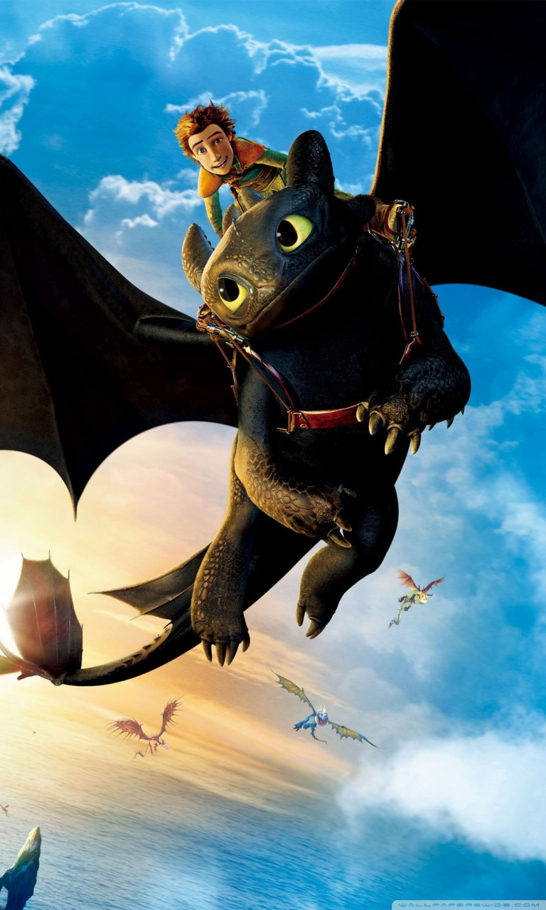3d Animation Wallpaper For Samsung Mobile Hiccup And Toothless 4k Hd Desktop Wallpaper For 4k Ultra