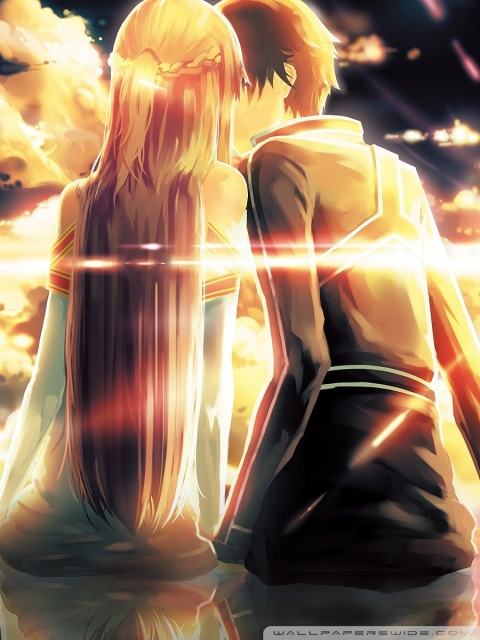 Boy And Girl Hug Wallpapers Kirito X Asuna 4k Hd Desktop Wallpaper For 4k Ultra Hd Tv