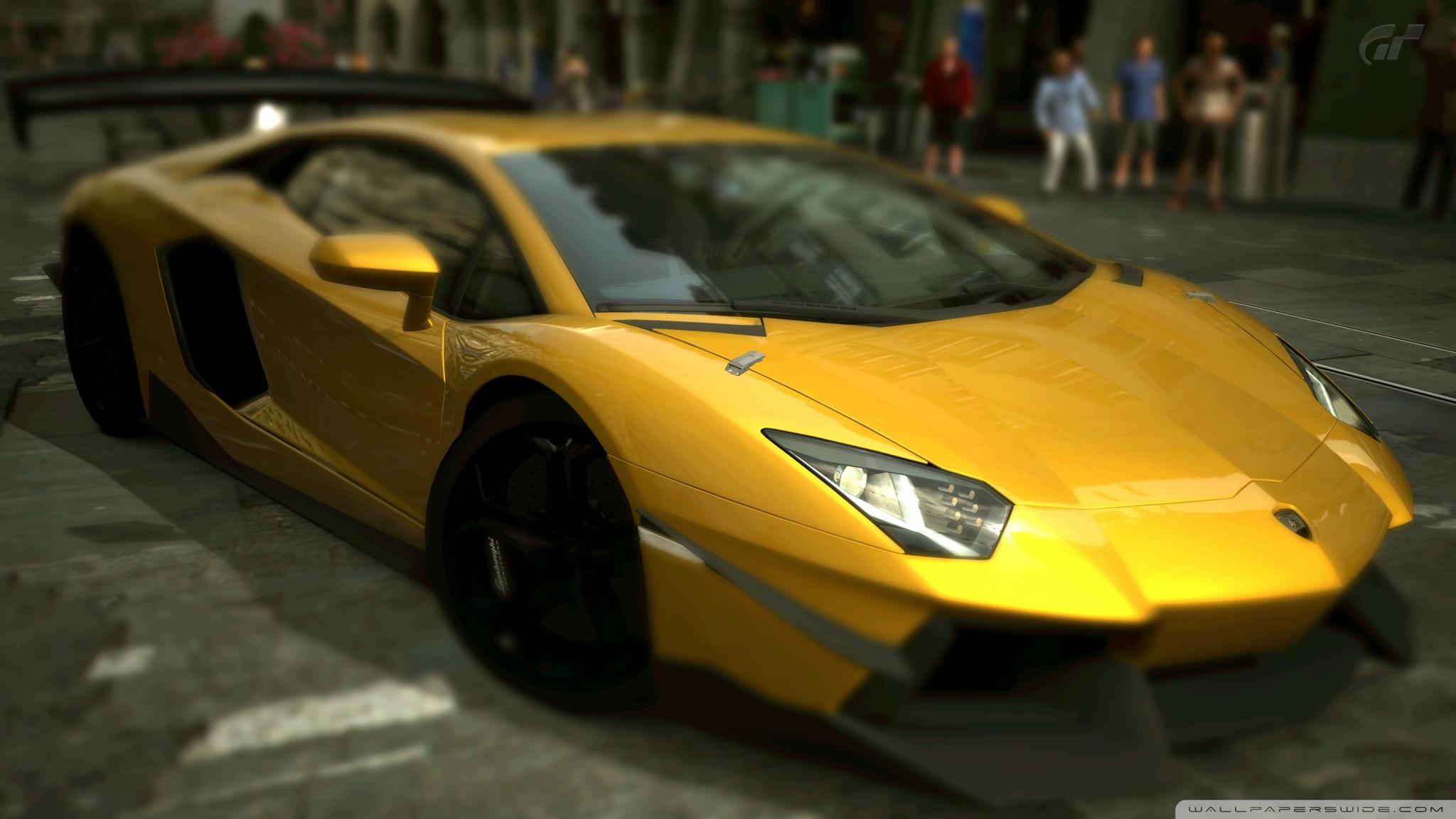 4k Red And Yellow Car Wallpaper Lamborghini Aventador Lp700 4 Inca Gold Yellow 4k Hd