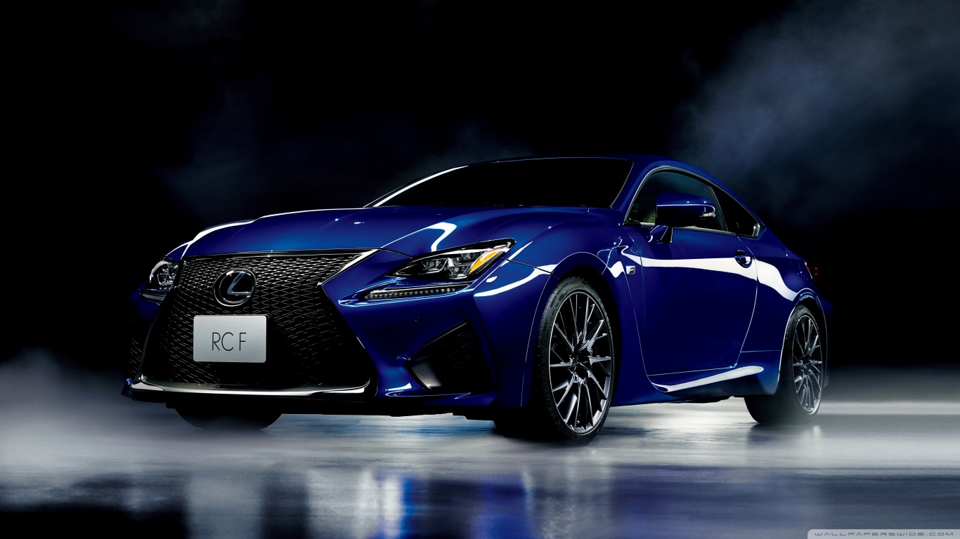 Car Dual Monitor Wallpaper 3840x1200 Lexus Rc F Blue Model Car 4k Hd Desktop Wallpaper For 4k