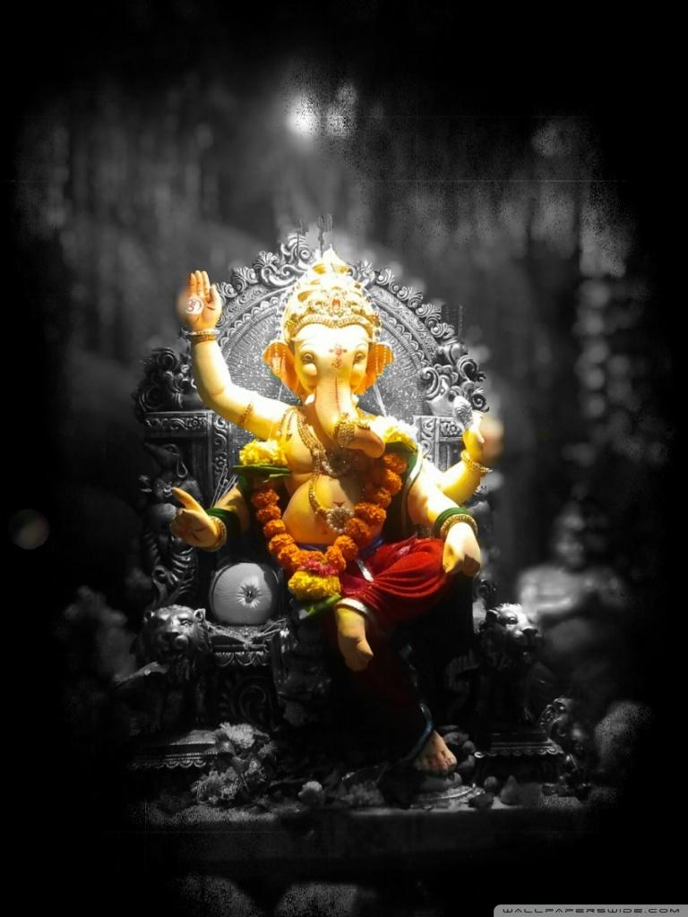 Lord Shiva Black Hd Wallpapers Lord Ganesh 4k Hd Desktop Wallpaper For Tablet