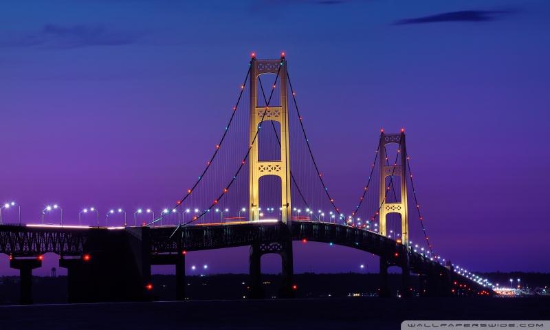 4k Fall Michigan Wallpaper Mackinac Bridge Michigan 4k Hd Desktop Wallpaper For 4k
