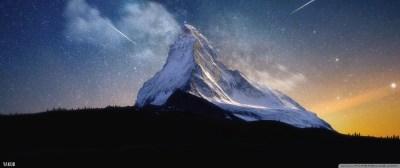 Milky Way Mountain by Yakub Nihat 4K HD Desktop Wallpaper for 4K Ultra HD TV • Tablet ...