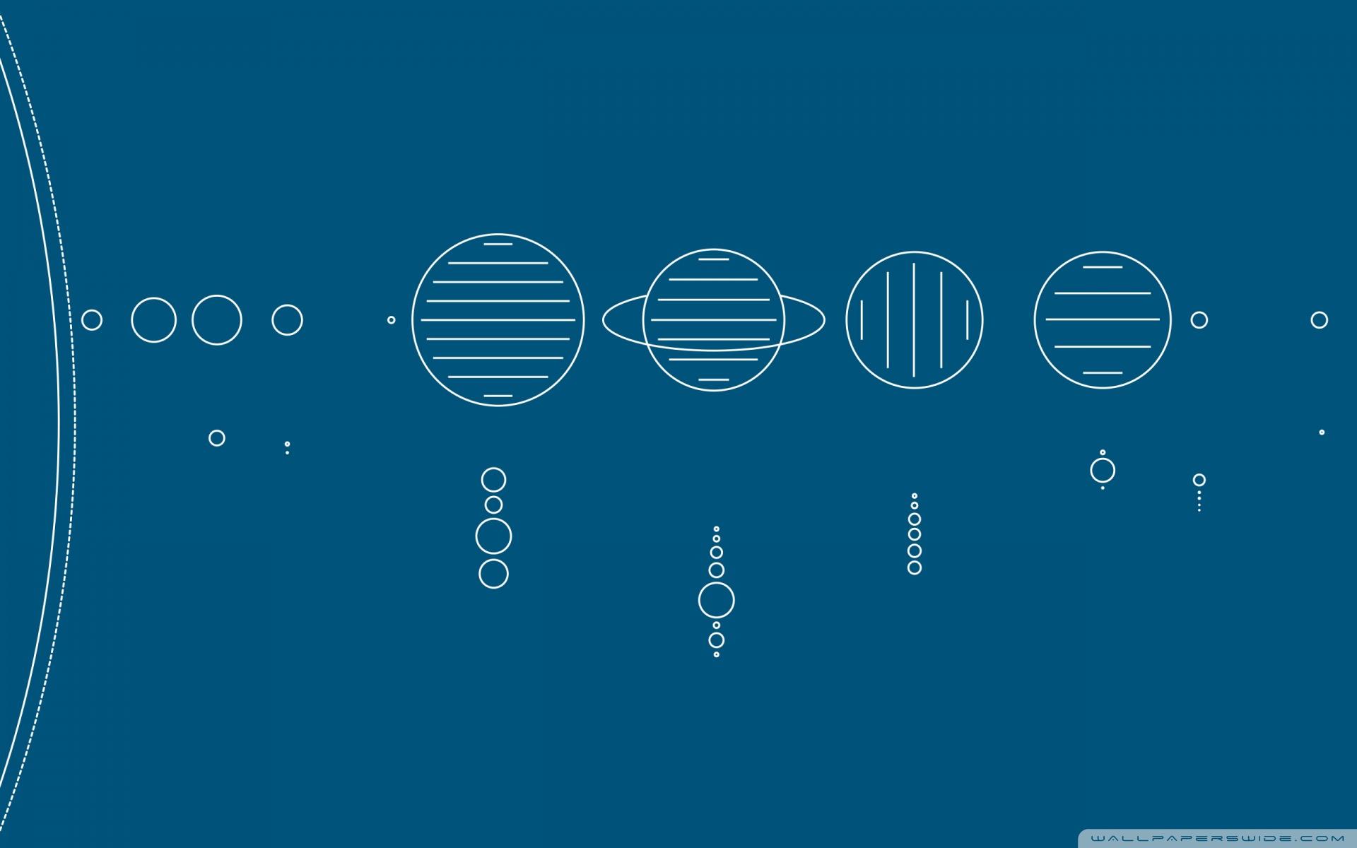 Astronomy Wallpaper Hd Minimal Solar System 4k Hd Desktop Wallpaper For 4k Ultra