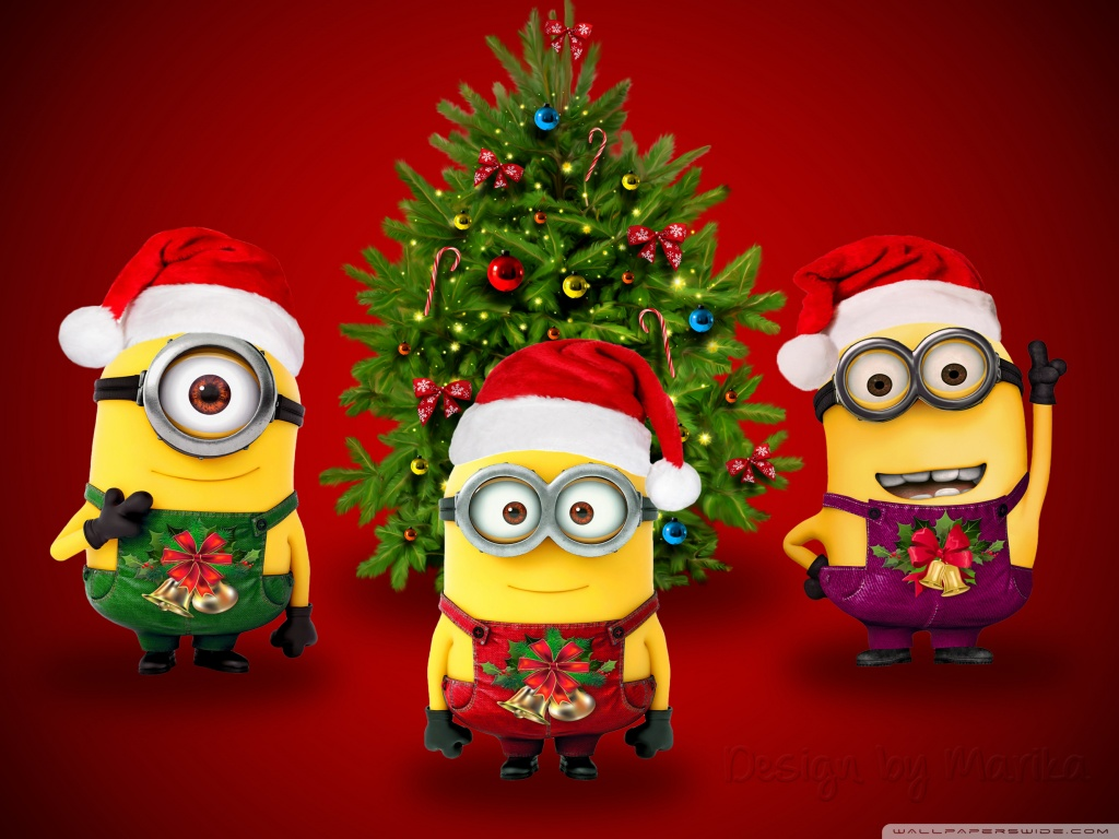 Minions Hd Wallpapers 1080p Minions Christmas 4k Hd Desktop Wallpaper For 4k Ultra Hd