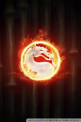 3d Wallpaper For Mobile 480x800 Mortal Kombat Logo 4k Hd Desktop Wallpaper For Dual