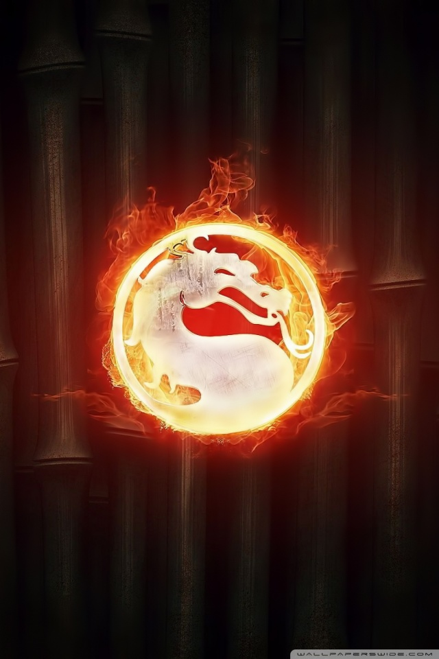 Fire Dragon Wallpapers 3d Mortal Kombat Logo 4k Hd Desktop Wallpaper For Dual