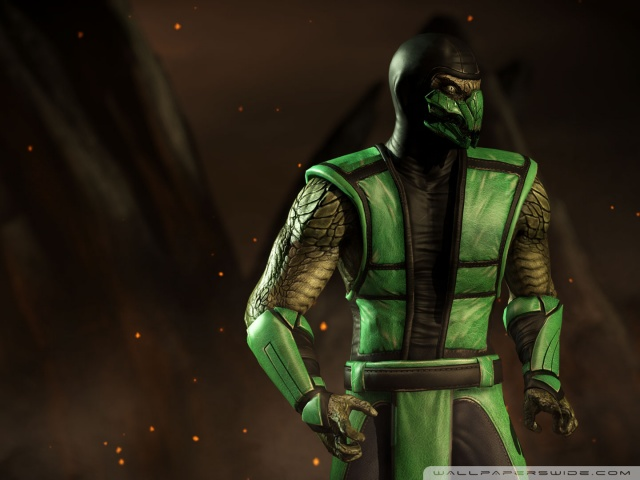 Hd Video Game Wallpapers 1080p Mortal Kombat X Reptile 4k Hd Desktop Wallpaper For 4k