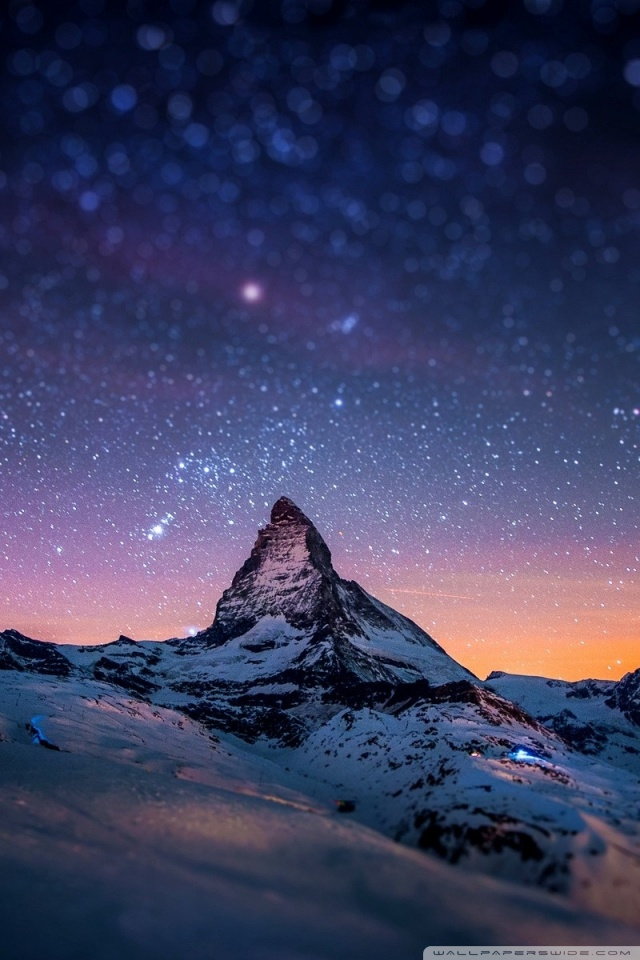 4k Hdr Wallpaper Iphone X Mountain At Night 4k Hd Desktop Wallpaper For 4k Ultra Hd