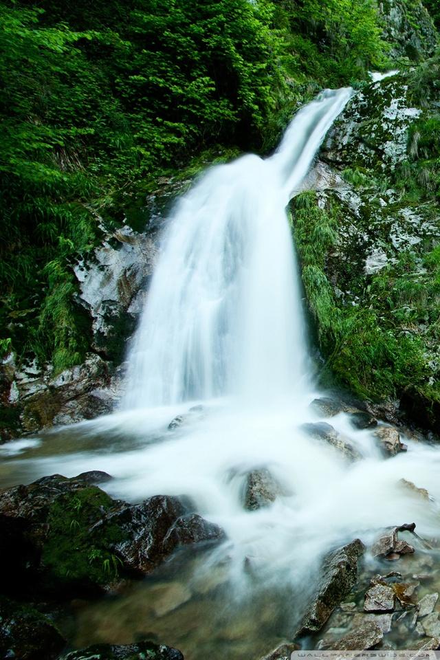 3d Name Wallpaper Free Download For Mobile Mountain Waterfall 4k Hd Desktop Wallpaper For Dual