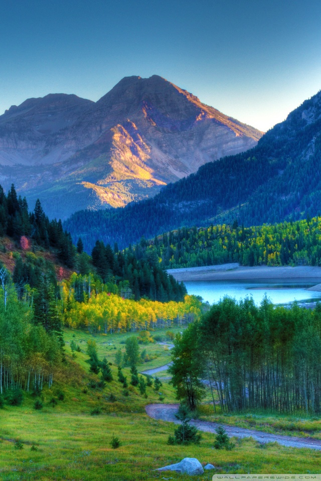 Free Mobile Fall Wallpapers Mt Timpanogos Sunset 4k Hd Desktop Wallpaper For 4k Ultra