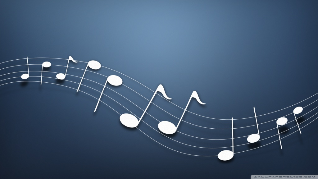 Musical Notes Background ❤ 4K HD Desktop Wallpaper for 4K Ultra HD