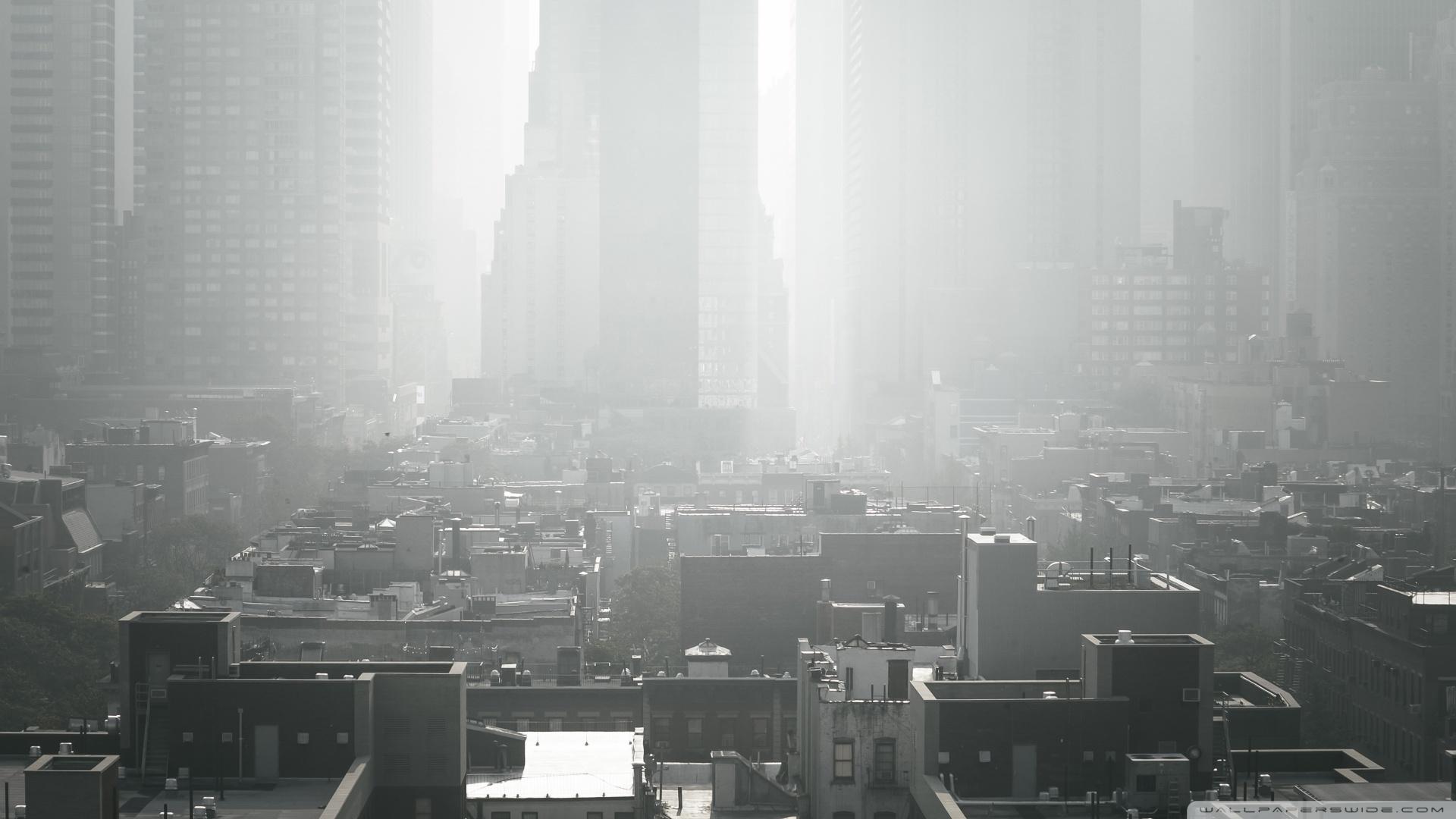 Hd Car Wallpapers 1600x1200 New York City Smog 4k Hd Desktop Wallpaper For 4k Ultra Hd