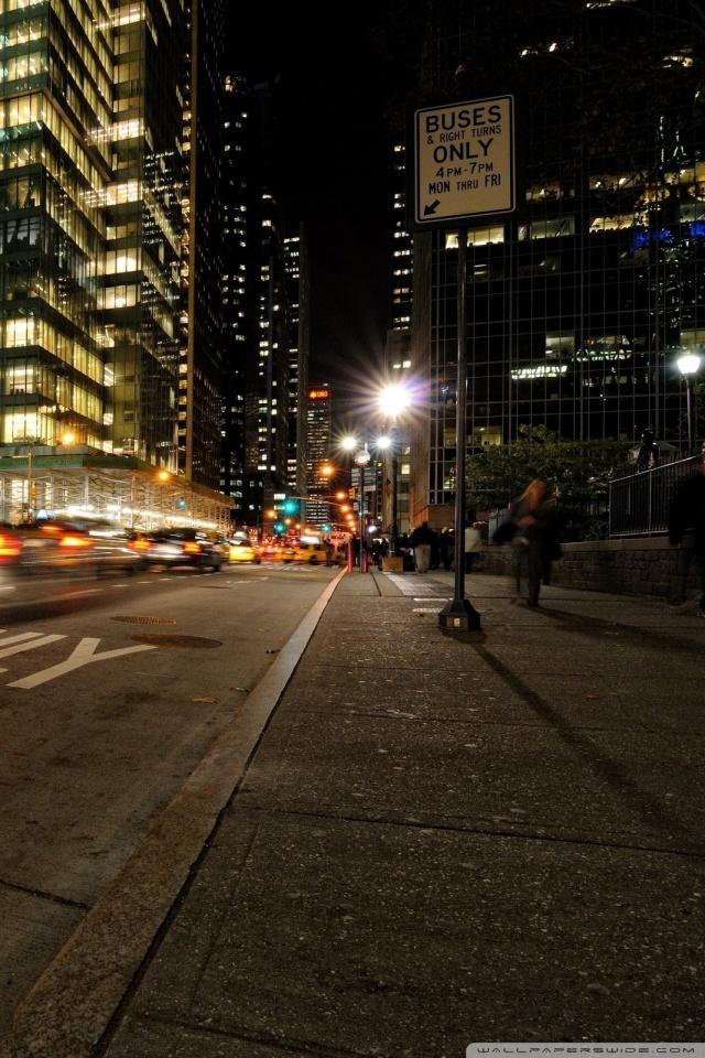 United States Wallpaper Iphone Night Time In New York 4k Hd Desktop Wallpaper For 4k