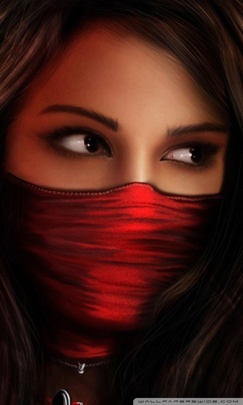 Deep House Girl Wallpaper Ninja Girl Fantasy 4k Hd Desktop Wallpaper For 4k Ultra Hd
