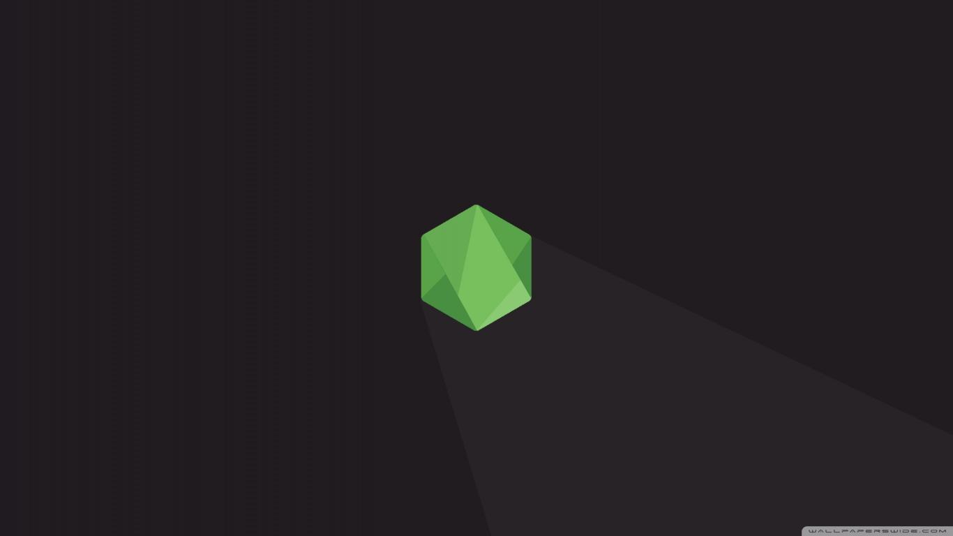 Programmer Quotes Wallpaper Hd Node Js Hexagon 4k Hd Desktop Wallpaper For Wide Amp Ultra