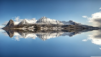 Norway Mountains 4K HD Desktop Wallpaper for 4K Ultra HD TV • Wide & Ultra Widescreen Displays ...