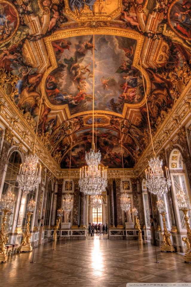 Iphone X Wallpaper Reddit Palace Of Versailles Hall Of Mirrors 4k Hd Desktop