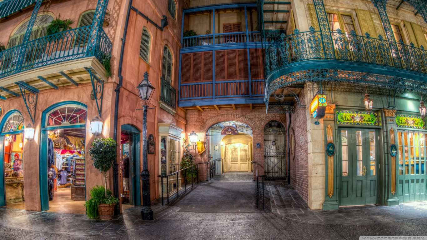 Wallpaper Hd Pirates Of The Caribbean Pirates Of The Caribbean Attraction Disneyland 4k Hd