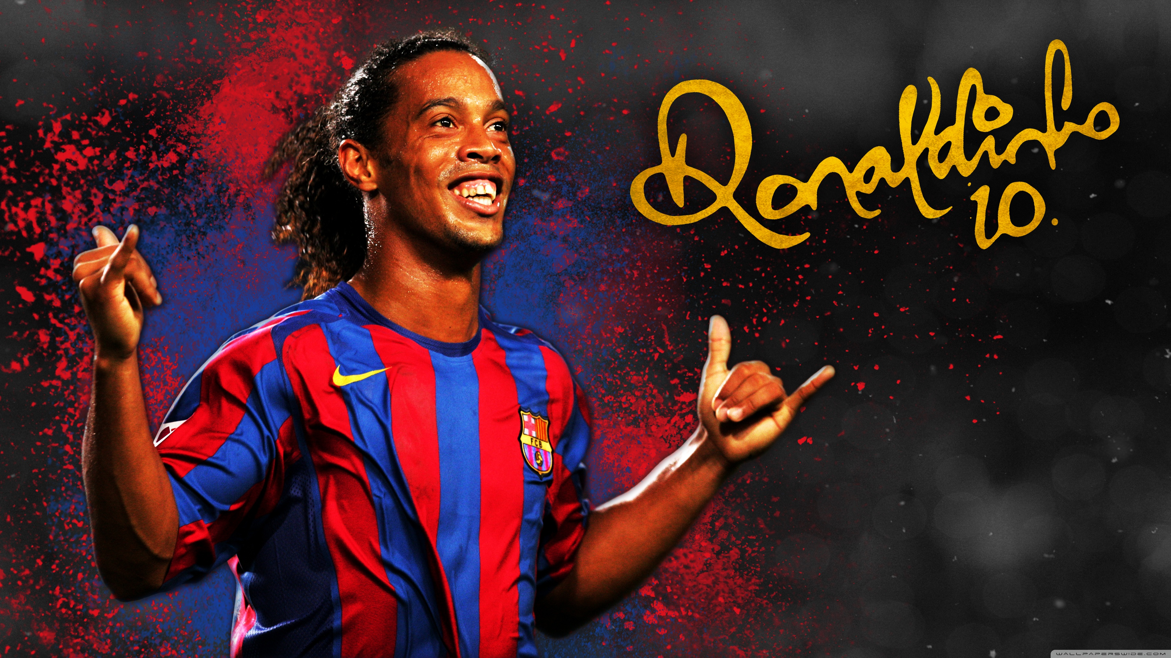 Barcelona Wallpaper Iphone 6 Ronaldinho Barcelona 4k Hd Desktop Wallpaper For 4k Ultra