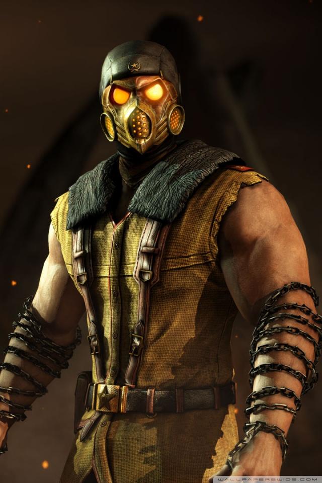 Mk Name Wallpaper Hd Scorpion Mortal Kombat X Game 4k Hd Desktop Wallpaper For