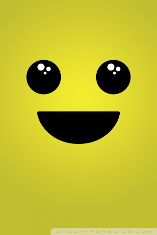 240x320 Animated Mobile Wallpapers Iphone Smiley Face Background 4k Hd Desktop Wallpaper For 4k