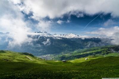 Spring Mountain Landscape 4K HD Desktop Wallpaper for 4K Ultra HD TV • Wide & Ultra Widescreen ...