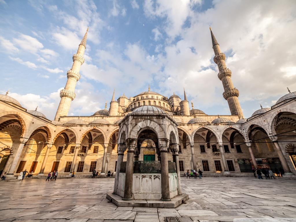 Best Islamic Hd Wallpapers For Desktop Sultan Ahmed Mosque Istanbul Turkey 4k Hd Desktop