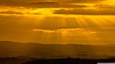 Sun Rays Through Clouds 4K HD Desktop Wallpaper for 4K Ultra HD TV • Wide & Ultra Widescreen ...