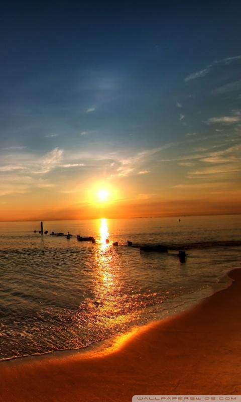 Samsung Mobile Hd Wallpapers Free Download Sunrise Ocean View Pier 4k Hd Desktop Wallpaper For 4k