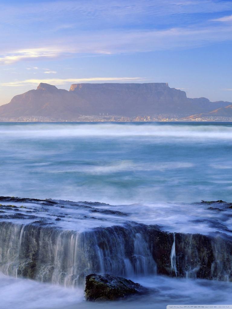 Victoria Falls Hd Wallpaper Table Mountain National Park South Africa 4k Hd Desktop