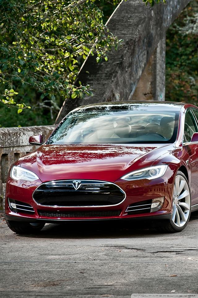 Car Wheel Iphone Wallpaper Tesla Model S Signature Signature Red 4k Hd Desktop