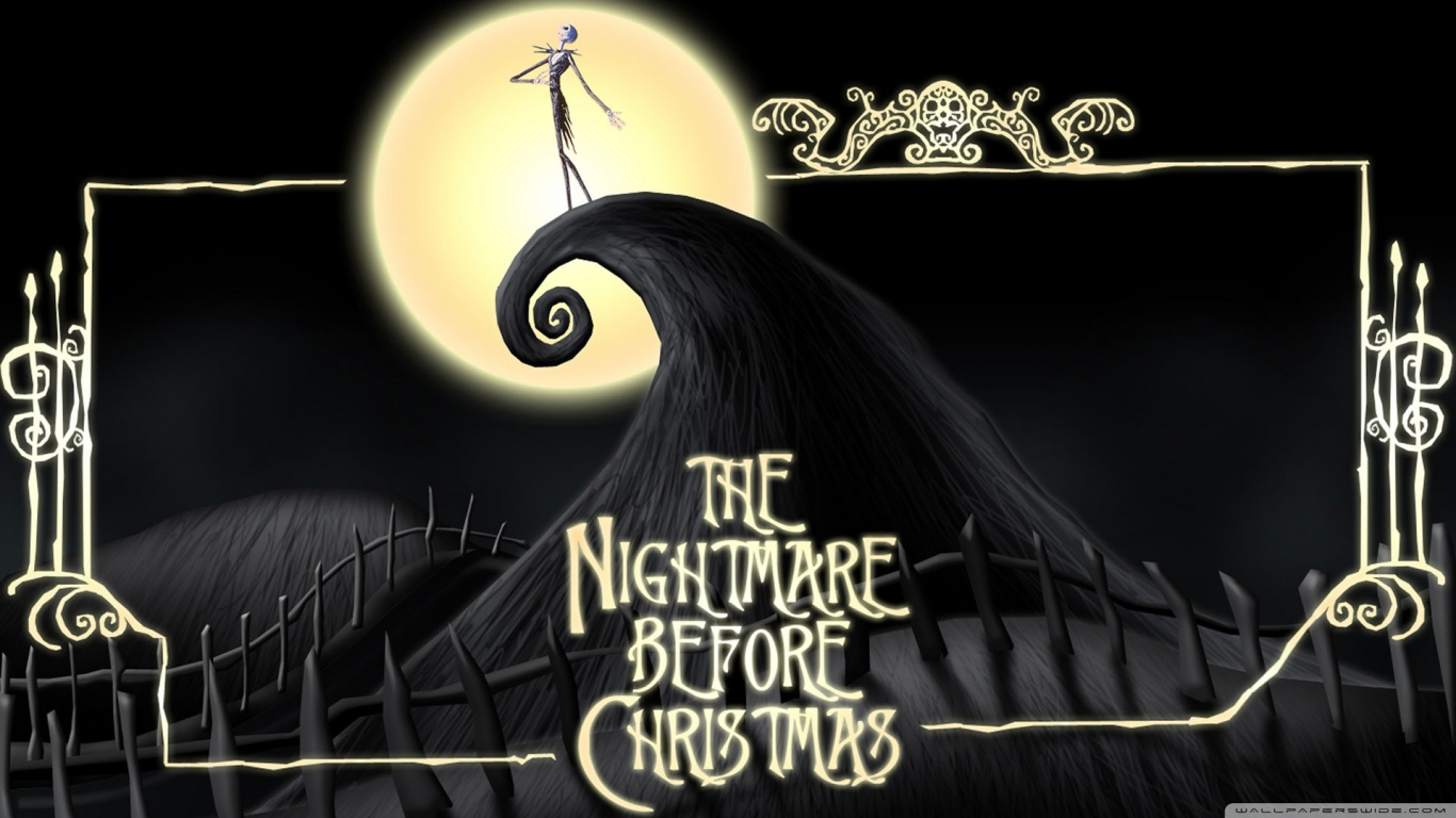 Hd Wallpaper The Nightmare Before Christmas 4k Hd Desktop Wallpaper For