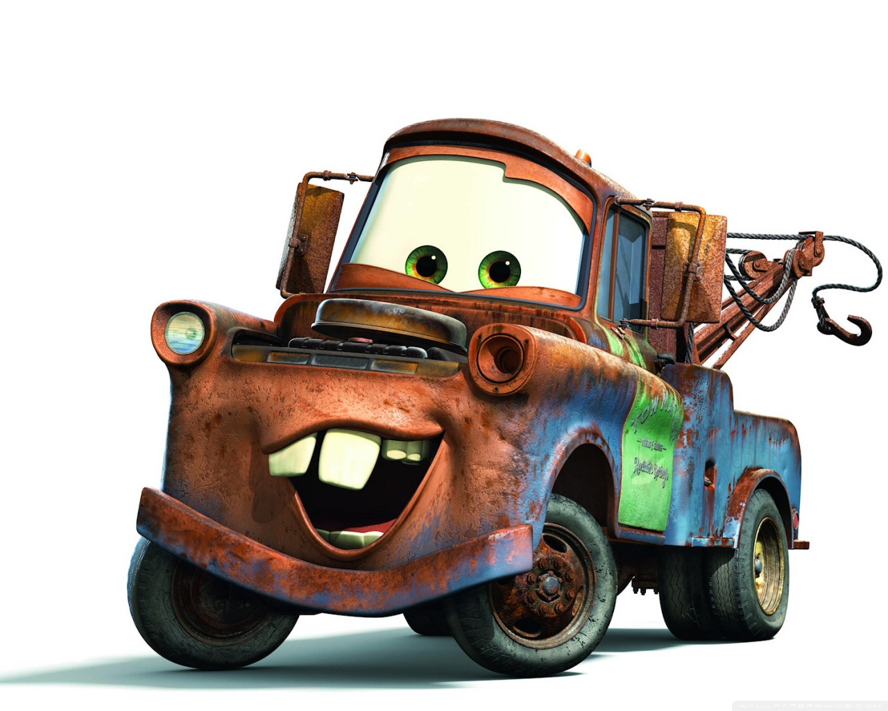 Tow Mater Cars Movie Wallpaper 1920x1200 Tow Mater Cars Movie 4k Hd Desktop Wallpaper For 4k Ultra