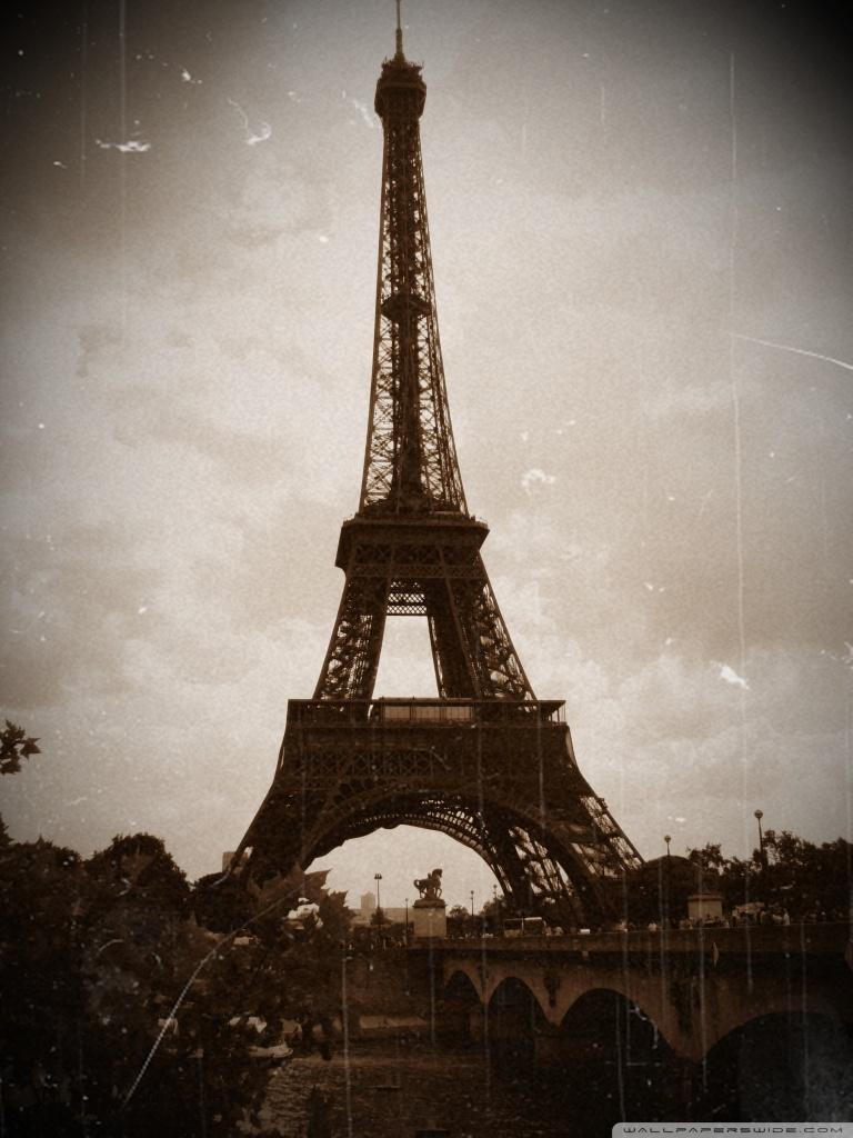 480x800 Hd Wallpaper Download Tower Eiffel Vintage Photography 4k Hd Desktop Wallpaper