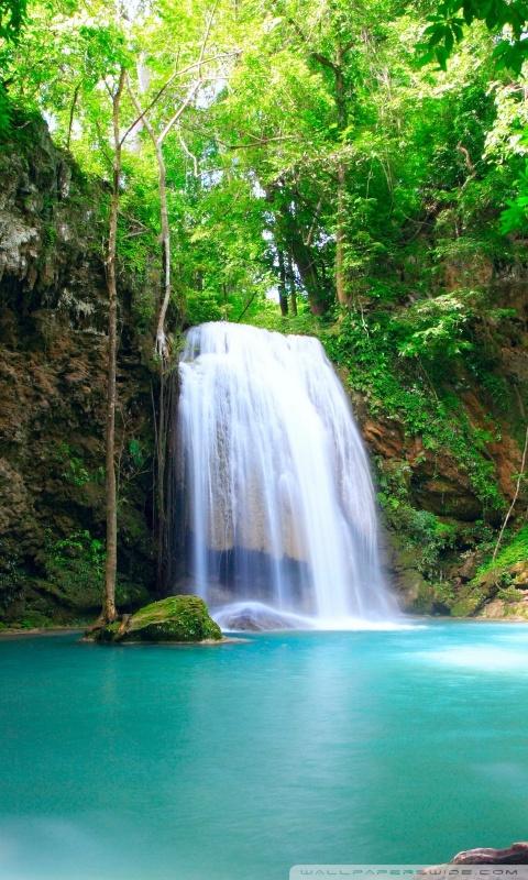 Google 3d Name Wallpaper Tropical Waterfall 4k Hd Desktop Wallpaper For 4k Ultra Hd