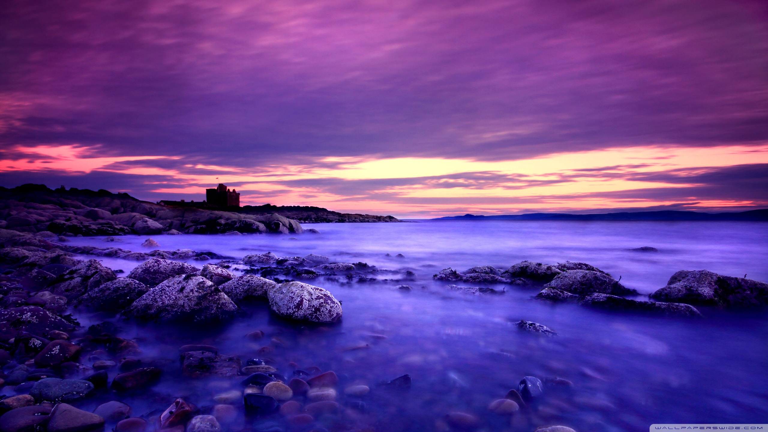 Hd Wallpapers For Laptop 15 6 Inch Screen Violet Clouds And Blue Water 4k Hd Desktop Wallpaper For