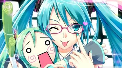 Vocaloid 4K HD Desktop Wallpaper for 4K Ultra HD TV • Tablet • Smartphone • Mobile Devices