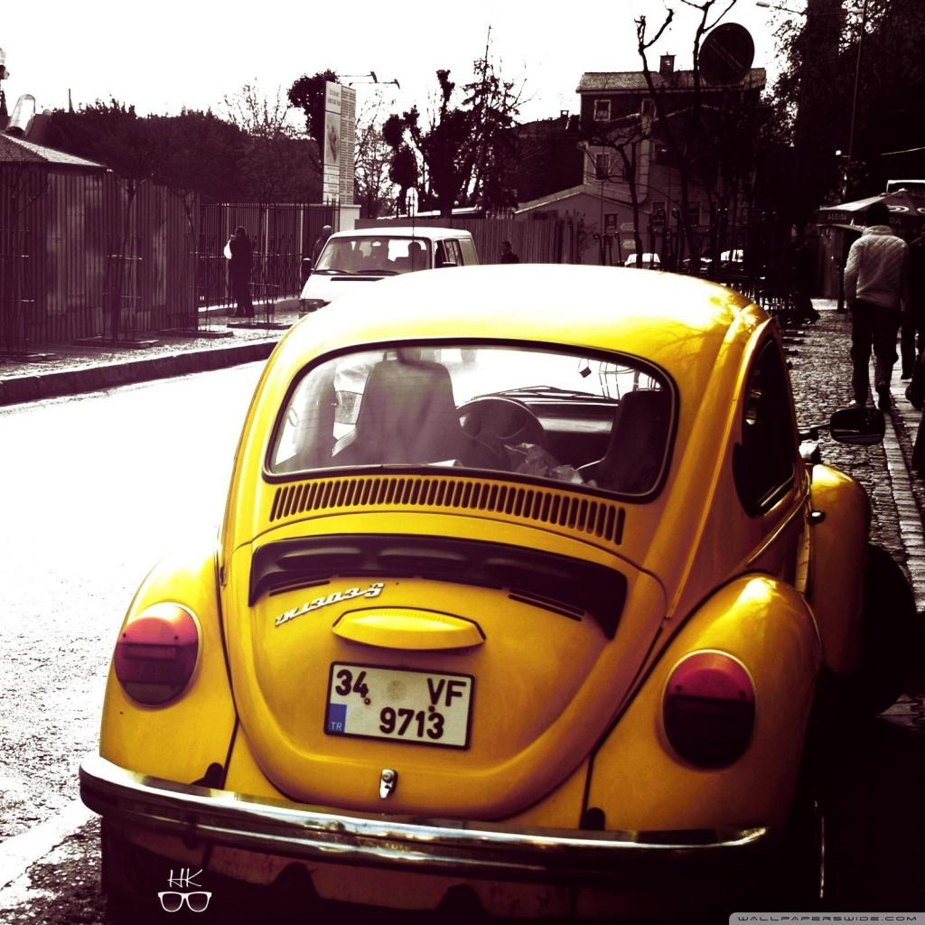 4k Car Wallpaper Volkswagen Volkswagen Beetle Yellow 4k Hd Desktop Wallpaper For 4k