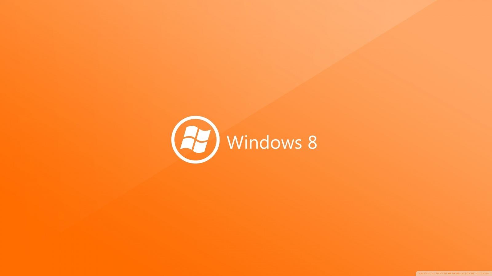 Cute Wallpapers For Dell Laptop Windows 8 On Orange Background 4k Hd Desktop Wallpaper For
