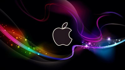 Cool Apple Logo Wallpaper ·①
