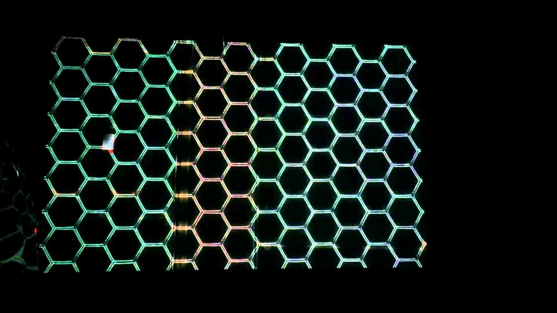 Hex Grid Wallpaper 1