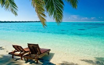 Tropical Beach Desktop Backgrounds ·①
