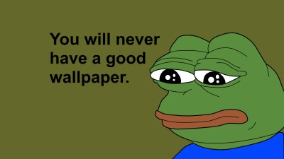 Pepe the Frog Wallpapers ·①